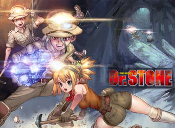 Dr. Stone 54 Color Cleaning Written