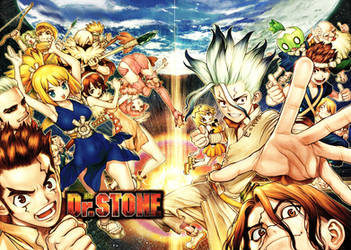 Dr. Stone 83 Color Cleaning Written by Ulquiorra90