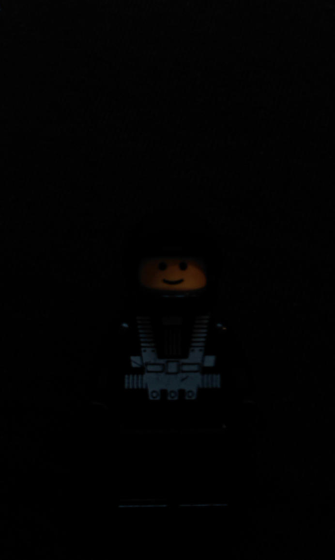 LEGO Blacktron in the dark by MG18