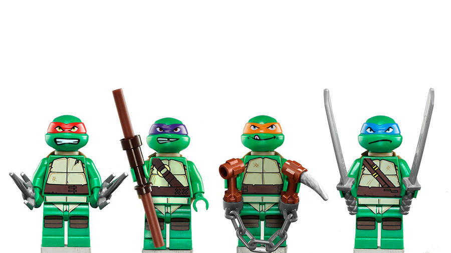 LEGO TMNT by MG18