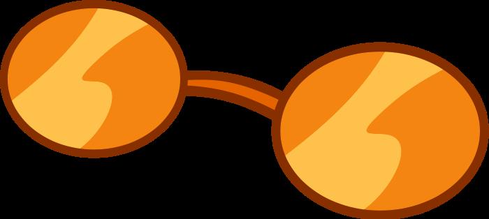 Orange Sunglasses Vector by EponymouslyEponymous