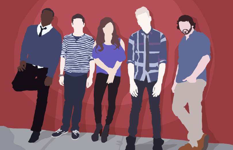 Pentatonix Cutout by WhiteWolfCub16
