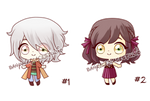 Open| Chibi Adoptables [1\2]| 5 USD Set price by Banya-Laplace-Studio