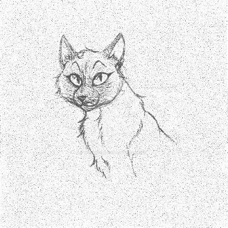 Kitty Sketch by thegypsybeaner