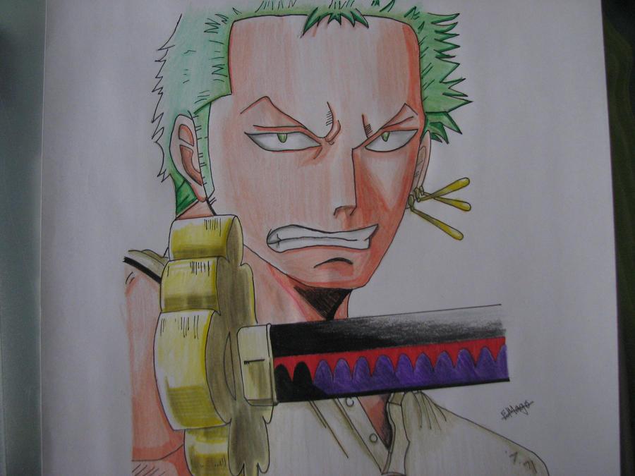 One Piece: Zoro by TheGaboefects