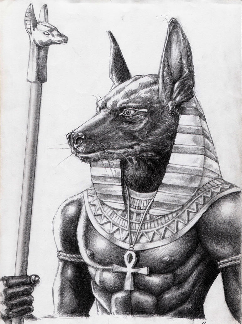 Anubis by canbaran on DeviantArt