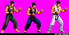Akira Yuki SNK/KOF Style (Compiled)