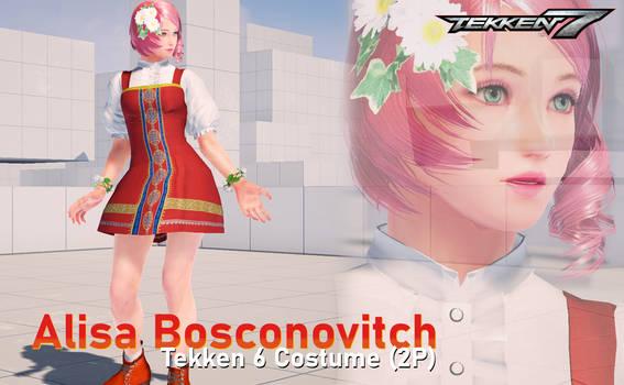 [Tekken 7 Mod] Alisa Tekken 6 Costume (2P)