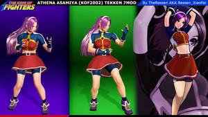 Tekken 7 Mod:KOF2002 Athena Asamiya (Xiaoyu/Chloe)