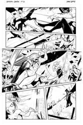 Spider-gwen 3 Juansamu by juansamu