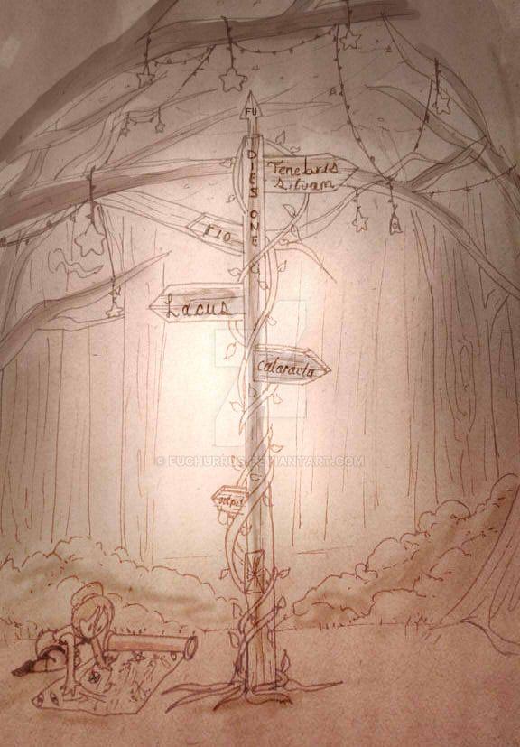 DIA1:''Entrada al bosque'' by Fuchurrus