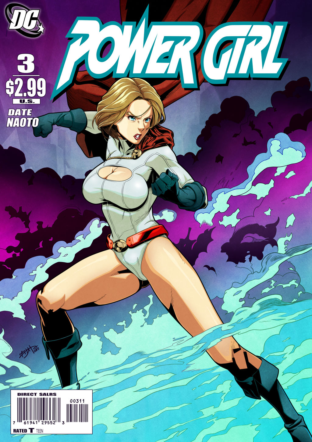 Power Girl by D-Toshi