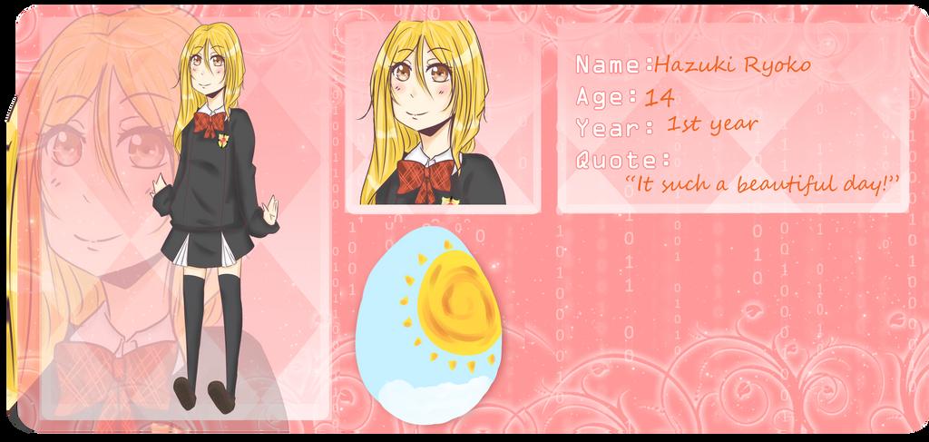 U-N-L-O-C-K: Hazuki Ryoko by Kilo13