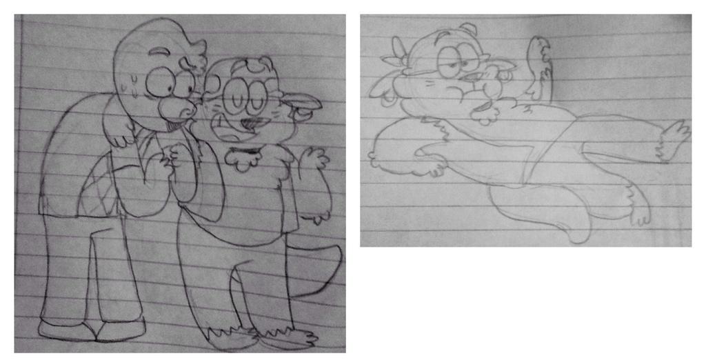 riv doodles by Shenanistorm