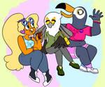 bird girls