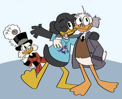 art trade: duck party