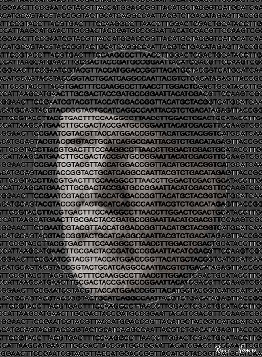 DNA Self Portrait by ReinNomm
