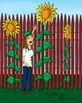 Kaytee By Sunflowers by Whooogo