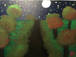 Midnight Glow by Whooogo