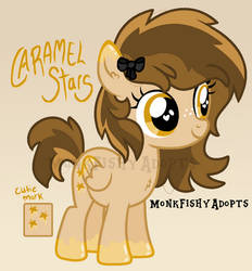 Caramel Stars - Pony Offer To Adopt - SOLD