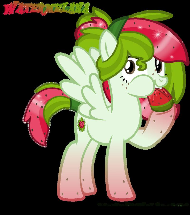 Watermelana - Melon! by MonkFishyAdopts