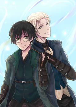 Aurors Potter and Malfoy