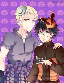 Happy drarry Halloween