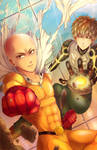 One Punch Man AN poster