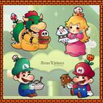 Super Mario Character Foodies