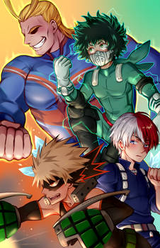 BNHA poster