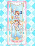 CCS Magical Girl Clear Card Bookmark