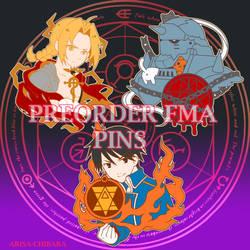 FMA PINS by arisa-chibara