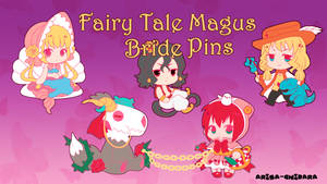 Ancient Magus Bride Pin Kickstarter