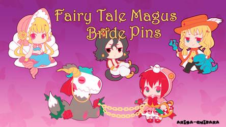 Ancient Magus Bride Pin Kickstarter by arisa-chibara