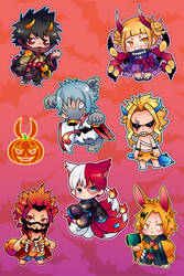 BNHA YOKAI STICKER SHEET