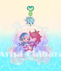 BOTW SIDON X LINK CHARM by arisa-chibara
