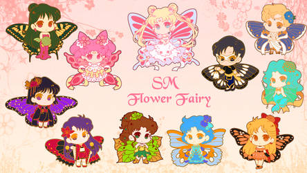 Sailor Flower Fairies Enamel Pin KS