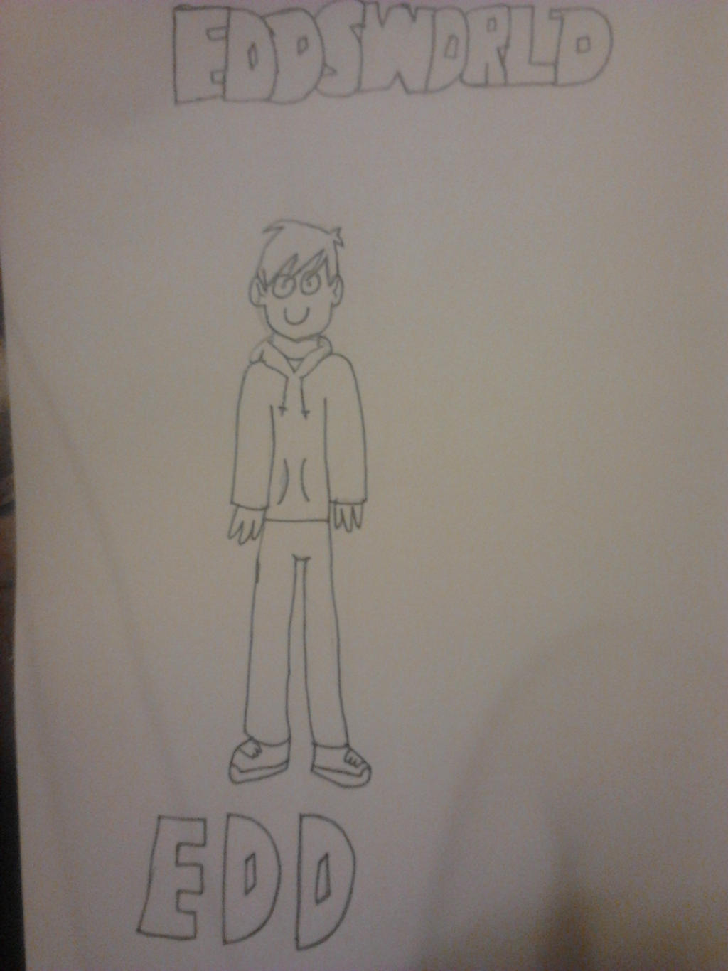 Eddsworld drawing by ForensicBec