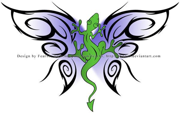 Lizard Tattoo by ~synner on deviantART