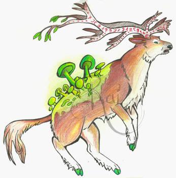 Arokai Deer God Concept by RabiesRai