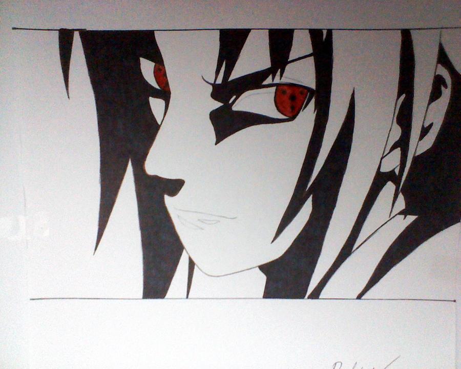 sharingan sasuke by SketchTekken on DeviantArt
