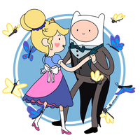 Finn and Star Butterfly by Gian-Inger