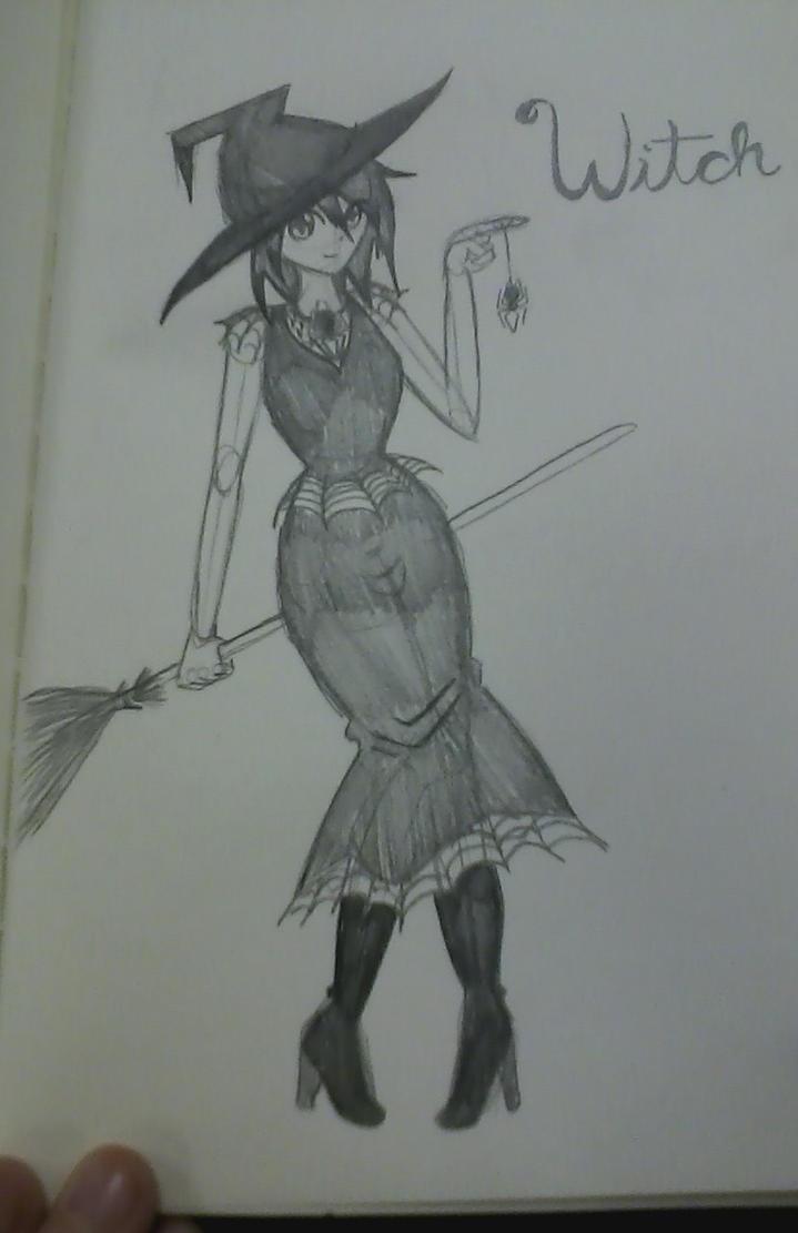 witch by XynexusKore