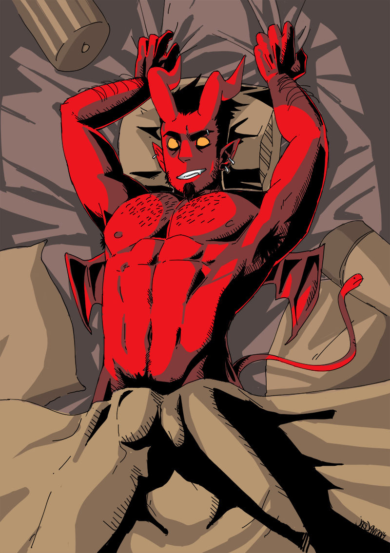 from Dorian gay demon comic