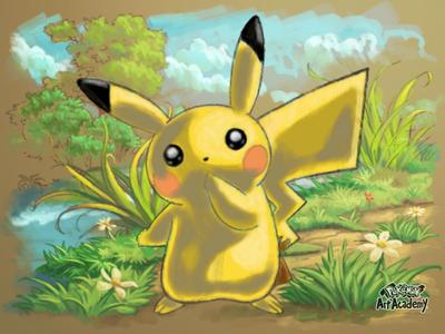 Pikachu painting by Sean1565