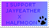 JayXhalfmoon stamp by pichuspokeball