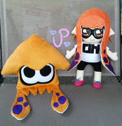 Splatoon Inkling Plushies FOR SALE