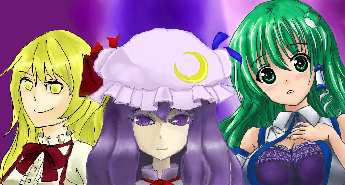 My Iscribble touhou by Denki89