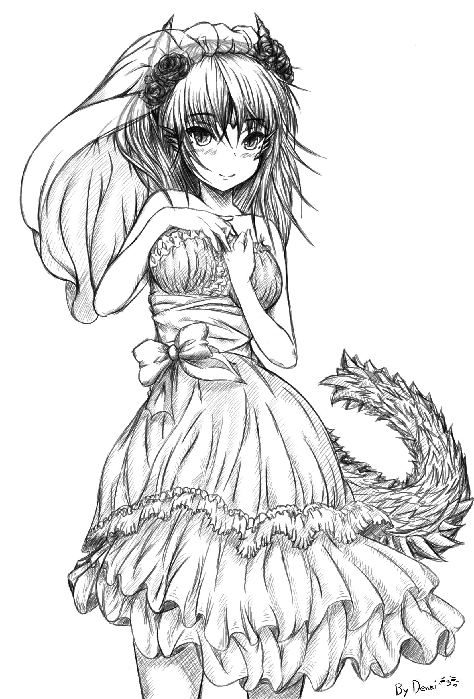 Zinogre Female Personification by Denki89