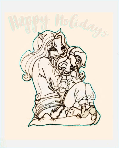 Happy Holidays by Abimuth